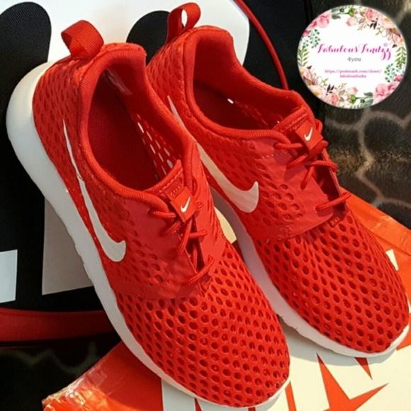 promo code cf1f3 57ba9 ❤ Nike Roshe One Flight Weight (GS) Red/White ❤